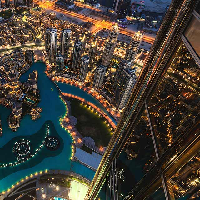 Top, Burj, Khalifa, Dubai, Heights